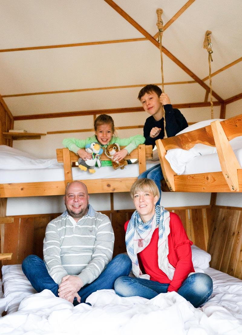Baumhaushotel Robins Nest Familienzeit