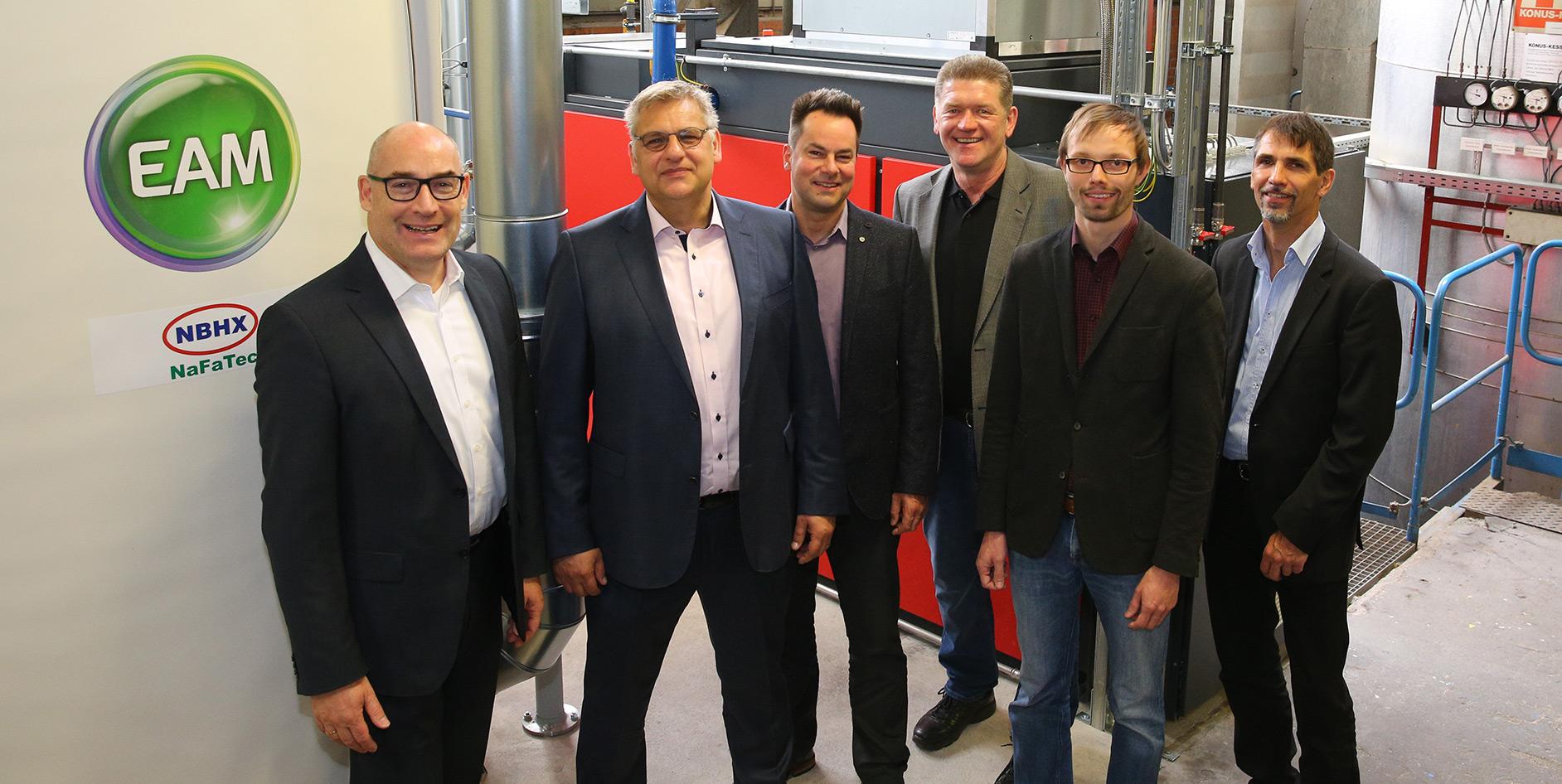 EAM modernisiert Druckluftversorgung für Weltmarktführer