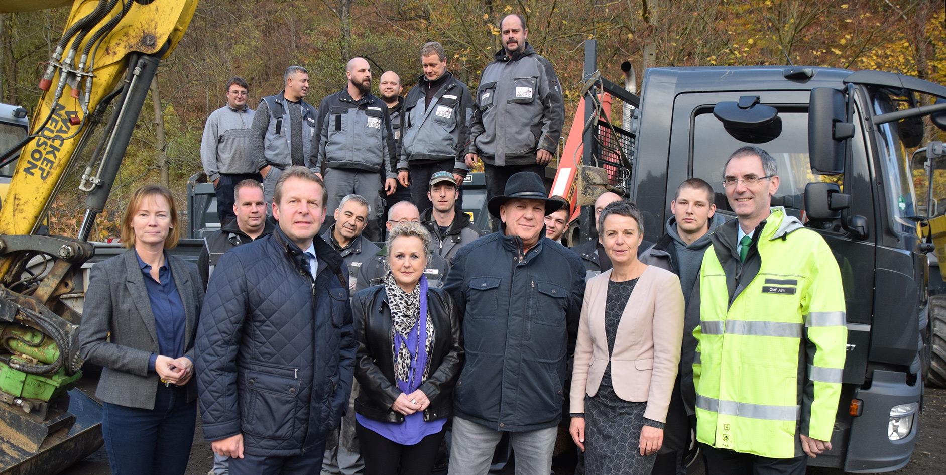 EAM erwirbt Tiefbaufirma Laukel