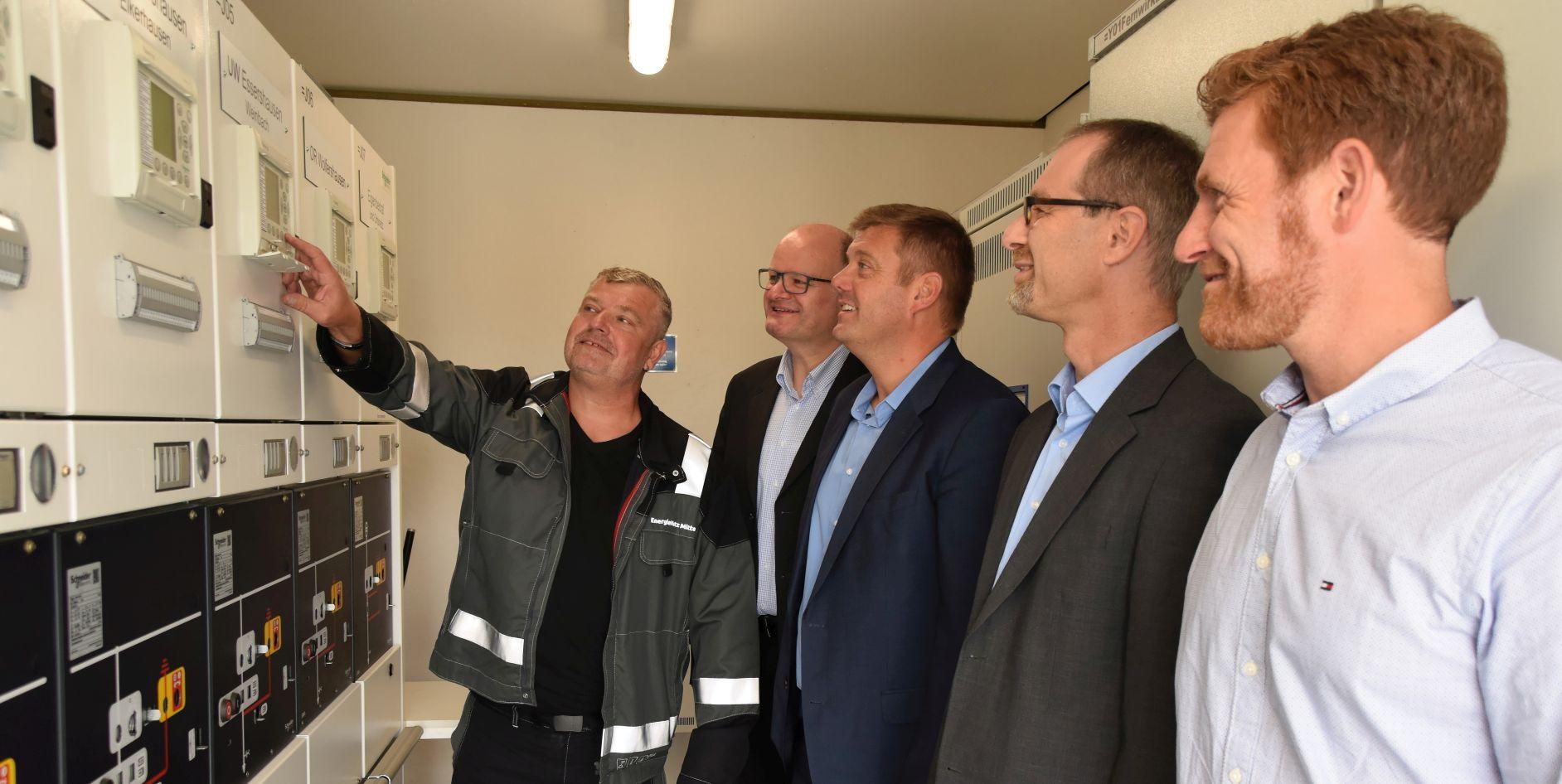 Erneuerung der Schaltstation Laubuseschbach
