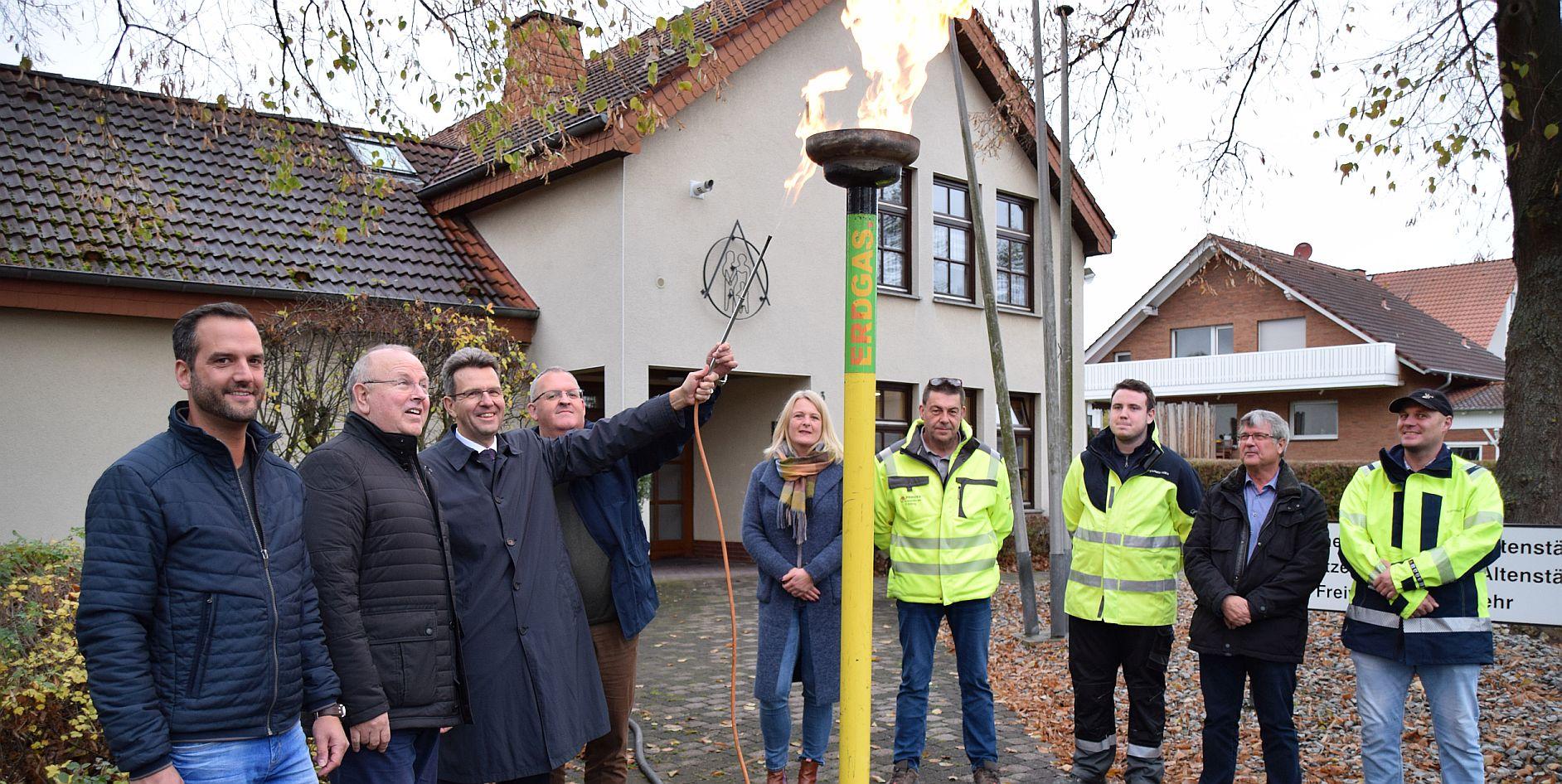 EAM nimmt Erdgasnetz in Naumburg-Altenstädt in Betrieb