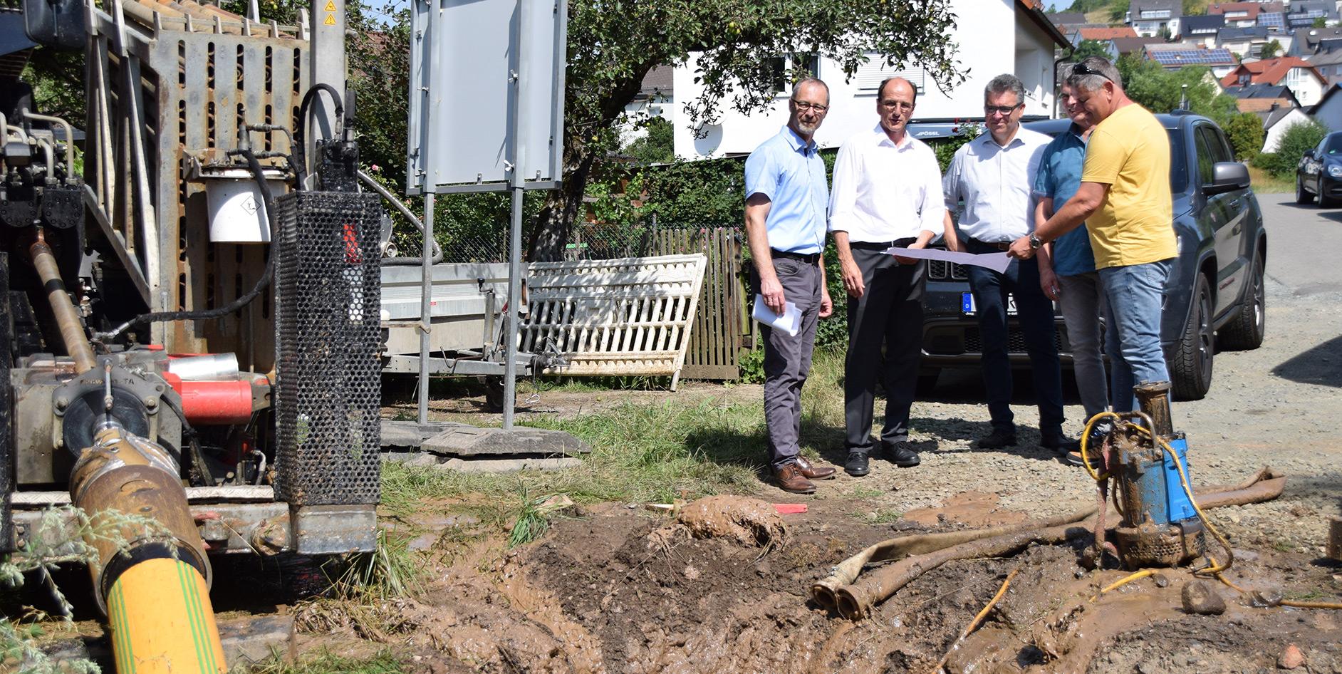 Die EAM verlegt eine neue 1.900 Meter lange Erdgasleitung in Dillenburg-Niederscheld.