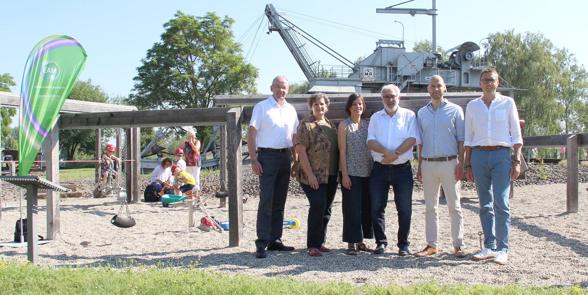 Die Kinder der KiTa Schatzkiste waren zu Besuch im Themenpark Energie in Borken