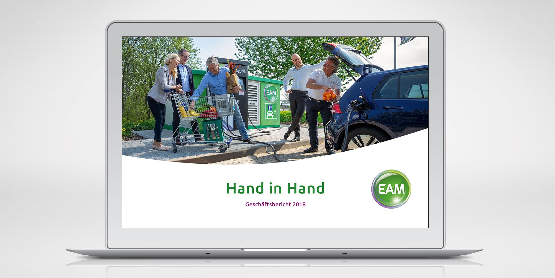 Der EAM-Geschäftsbericht 2018 ist veröffentlicht.