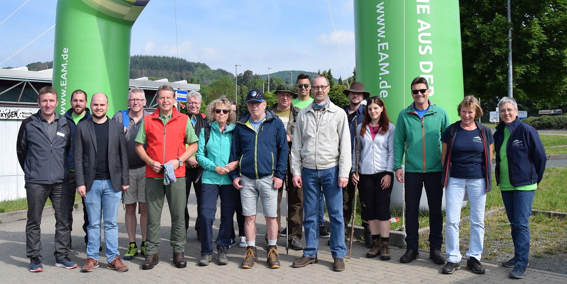 Die EAM unterstützt den EAM-Lahn-Dill-Bergland-Naturpark-Wandertag als Premiumsponsor.