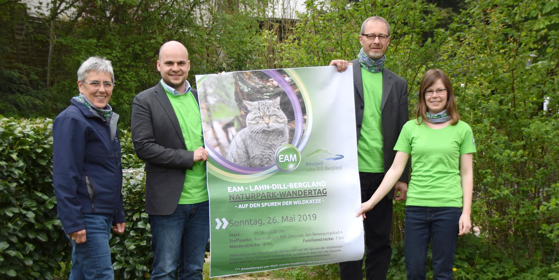 "Die EAM ist Premiumsponsor beim ""EAM – Lahn-Dill-Bergland Naturpark-Wandertag"" in Bad Endbach."