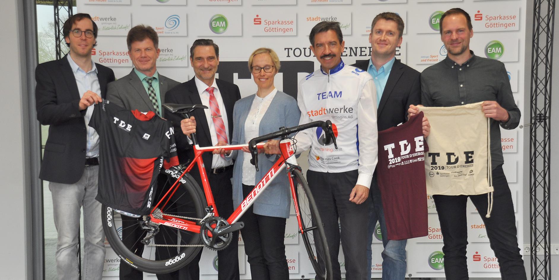 Die EAM unterstützt die Tour d'Energie 2019 in Göttingen.