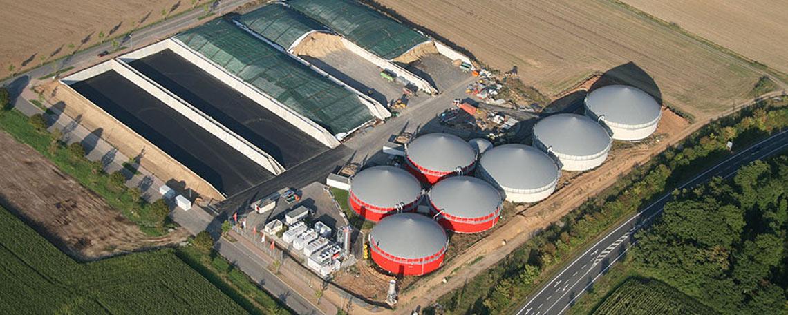 EAM Biogasanlage Hardegsen Südniedersachsen