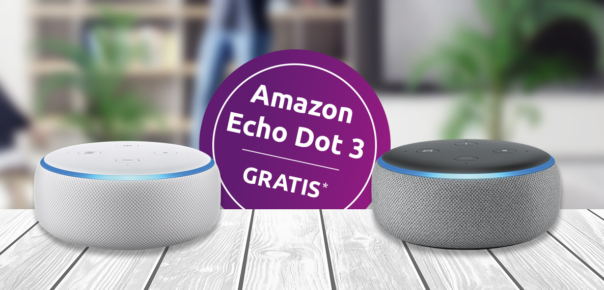 EAM Amazon Echo Dot 3 Aktion