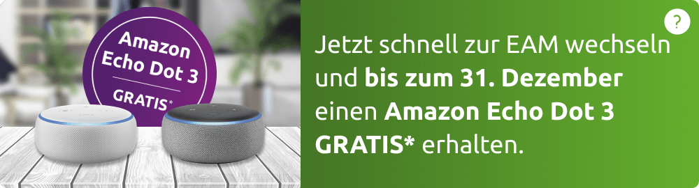 Amazon Echo Dot gratis