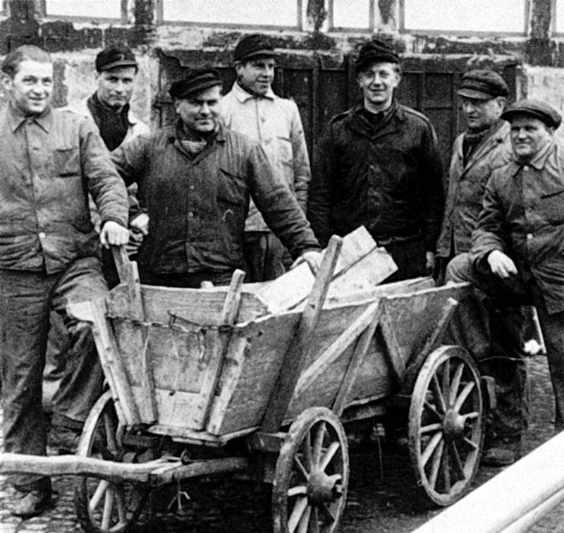 90 Jahre EAM Leiterwagen