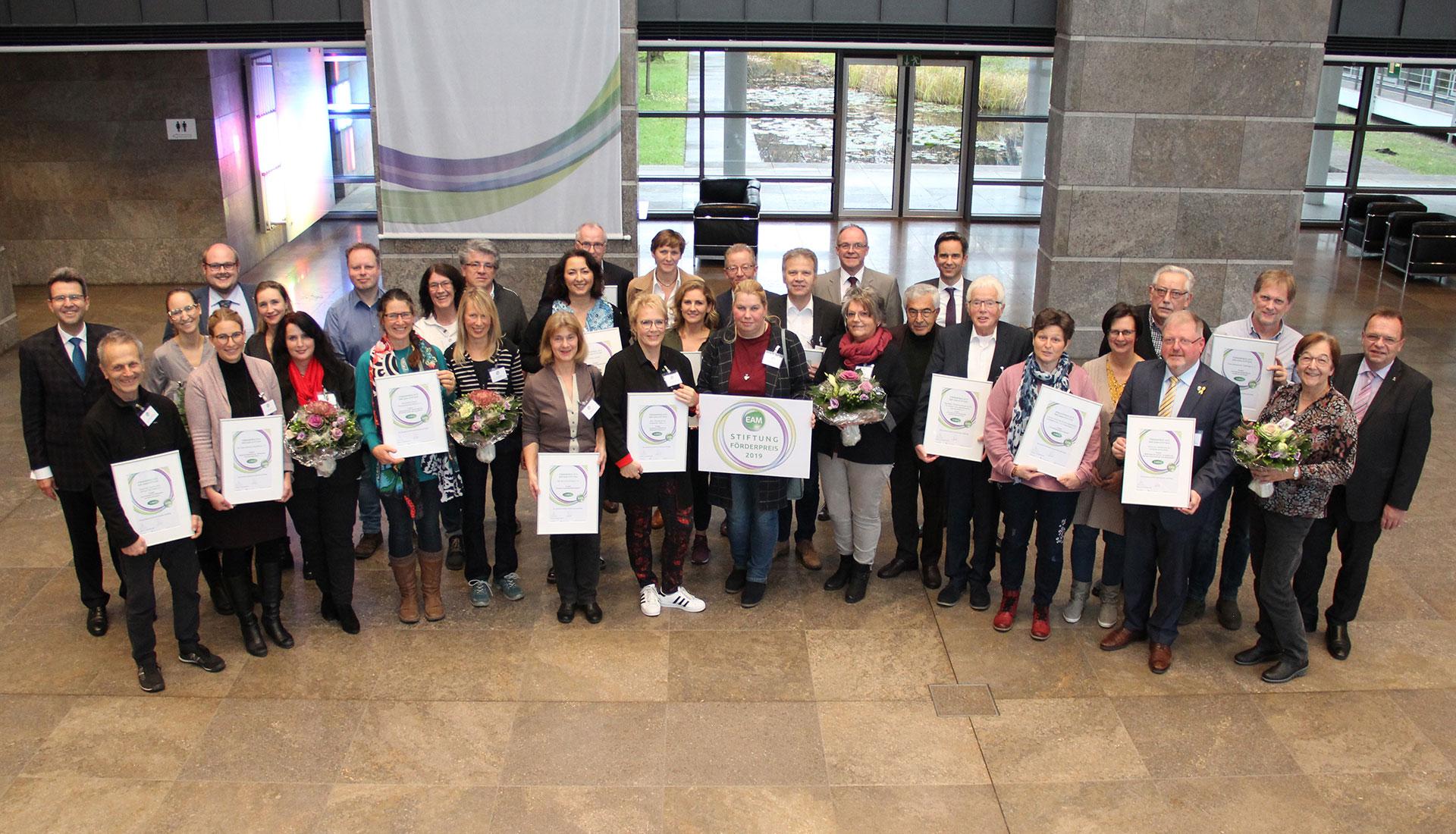 EAM-Stiftung Preisträger