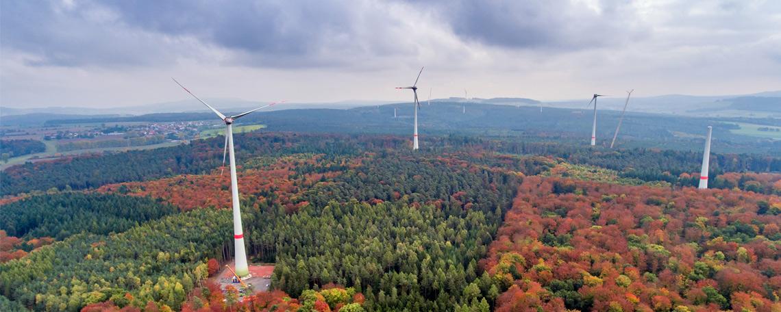 EAM Windpark Die Gleiche